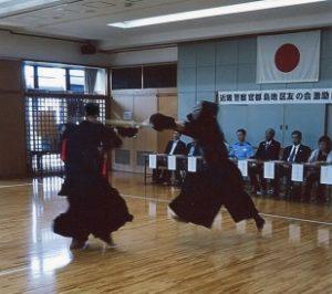 都島 剣道大会激励